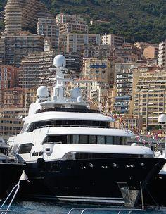 Monaco Yacht Show 2008 - Mega Yacht -  #boating #yachts #sailing #sailboat #luxury #fishing