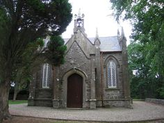 Small Gothic Revival style church, Ireland