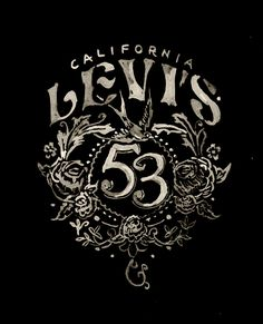 beautiful lettering design | levi's - bmd design