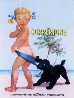 Coppertone ads