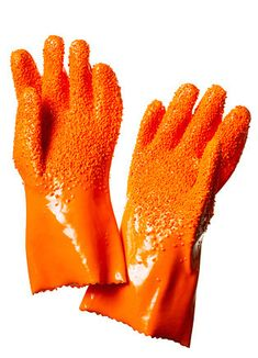 Peeler Glove: Forget the vegetable brush and peeler.Made of rubber. $16.