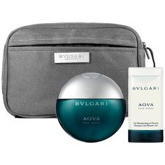 Father's Day Gift Ideas: Bvlgari Aqva Pour Homme Gift Set #Sephora #FathersDay #FathersDayGifts #ForDad #cologne #giftsets