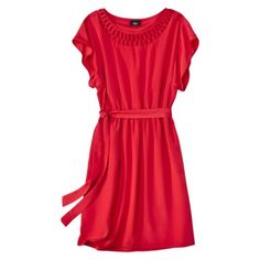 Cute belted dress