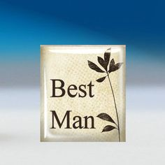 Best Man Tie Tack - $6.99. http://www.bellechic.com/products/82cf106ea4/best-man-tie-tack