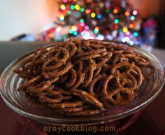 Spicy Pretzels!
