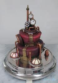 steam punk cake!