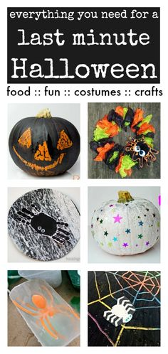 Easy Halloween crafts, no sew Halloween costumes, fun Halloween activities - everything you need for Halloween party ideas!