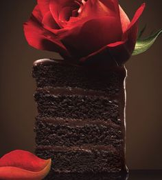 Classic Chocolate Cake with Fudge Frosting....
