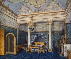 Bedchamber of Empress Alexandra Fyodorovna, Winter Palace, St. Petersburg