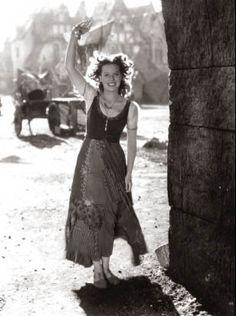 The Hunchback of Notre Dame, 1939. Maureen O'Hara 's Esmeralda