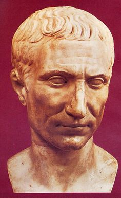 Gaius Julius Caesar!!!! How can you not have a crush on this Handsome fellow?  July 100BC– 15 March 44BCwas a Roman general and statesman and a distinguished writer of Latin prose. He played a critical role in the gradual transformation of the Roman Republic into the Roman Empire.