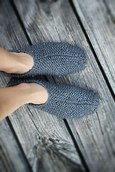 Recluse Slippers, free pattern by Lisa Mutch