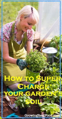 How to Super-Charge Your Garden's Soil | GrowingRealFood.com