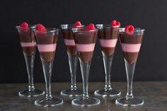 Daydreamer Desserts - Dark Chocolate and Raspberry Panna Cotta