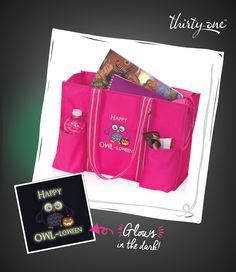 Featured style: Our Zip-Top Organizing Utility Tote in Spirit Pink!