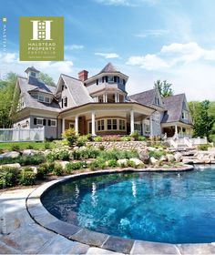 "Released - Spring/Summer 2011 Portfolio Magazine - Connecticut Edition.  Amazing 15 room new construction in New Canaan.  FUN FACT: This home was the winner of two 2010 hobi awards, ""Best Spec Home over 6M"" & ""Spec Home of the Year""."