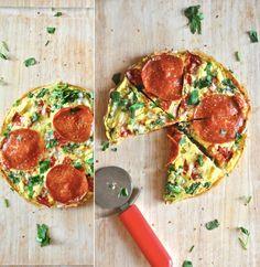 Pizza Frittata by minimalistbaker: Brilliant! #Pizza #Frittata #minimalistbaker