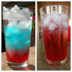 Epic Pinterest Fail! Red, White, and Blue Drink