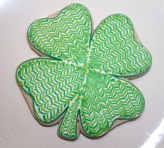 Shamrock www.thehungryhippopotamus.com march 17th, cooki art