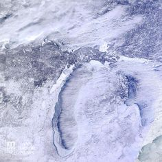 Congrats, Michigan mile for mile, you have more snow cover than any other state in the country! Jan-30, 2014