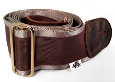 Guitar or Bass Strap Recycled Seat Belt by SeamstressForTheBand, $39.00