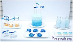 Shades of Blue 2nd Birthday Party
