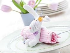 Free Easter bunny crochet pattern | The Making Spot blog  ☀CQ #crochet #amigurumi #crafts #DIY