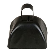 3-inch Black Metal Cow Bell (Bulk Pack of 12 Bells)  at theBIGzoo.com, a toy store that has shipped over 1.2 million items.