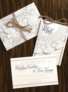 #rusticwedding invitation from rusticweddingchic.com