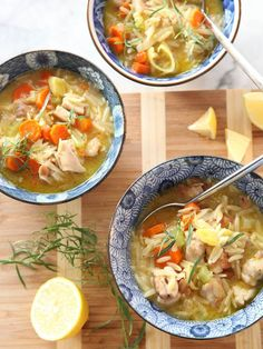 Lemon Chicken Stew | FoodieCrush.com