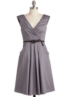 Occasion by Me Dress in Charcoal, #ModCloth
