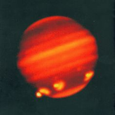 Jupiter after the impact of comet Shoemaker-Levy 9 in 1994 - Credit: Calar Alto Observatory/Max Planck Institute for Astronomy, Heidelberg, Germany - ESA Science & Technology