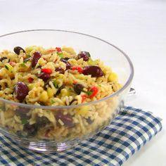 Rice and Mixed Bean Salad