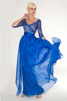 Mother of the Bride Dresses Cobalt