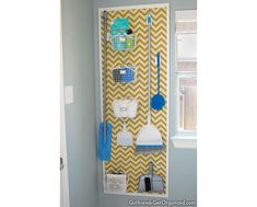 pegboard for the laundry room