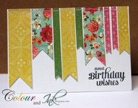 A Project by colour and ink from our Stamping Cardmaking Galleries