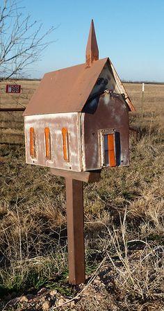 Church House Mailbox