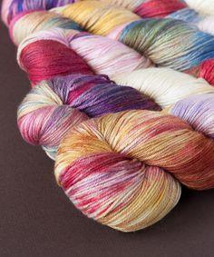 Tricksy Knitter - Merino & Silk Knitting Kit - Unicorns