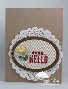 Stampin' Up! Card  by Angela McKay at North Shore Stamper