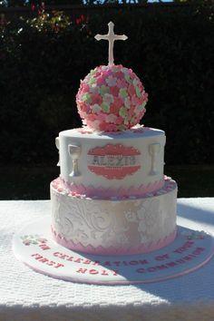 Religious Cake 1st Communion #Gia