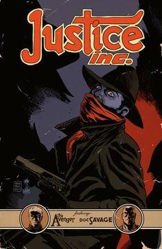 JUSTICE INC. 3 Cover Art by Francesco Francavilla