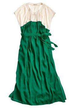 Green and white dress [ CLICK HERE!]  Merryrichardsjewelers.com   #green #design #jewel #inspire