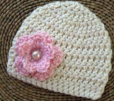 Newborn Baby Girl Hat