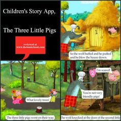 The Book Chook: Children's Story App, The Three Little Pigs