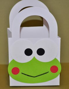 Hello Kitty Keroppi Gift Bags set of 6 by collegesxpensive on Etsy, $5.99