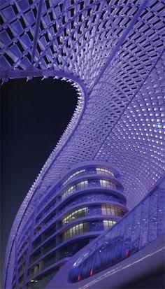 The Yas Hotel on Yas Island, Abu Dhabi