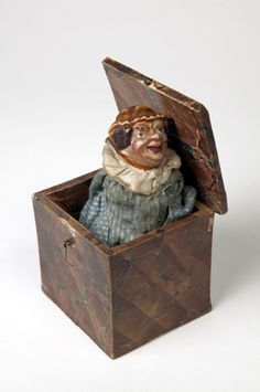 19th century jack in a box toy