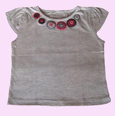 """Camiseta para niña """"Circulos"""""""