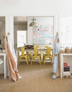Serene Home Office Studio | photo Victoria Pearson | via House Beautiful | House & Home