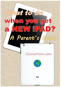 What to do with a new iPAD - parent's guide - how to set up the system so there will be no accidental downloads, how to choose good educational apps, including free apps, and more. #parenting #ipad